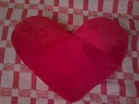 Отдается в дар сердце красное мягкое