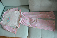 Отдается в дар Пижама розовая Chicco