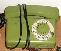 Отдается в дар Телефон с дисковым номеронаберателем.