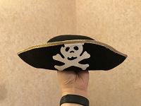 Отдается в дар Пиратская шляпа