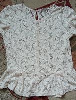 Отдается в дар Нарядная блузка с баской размер 16