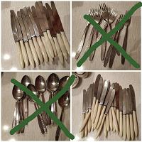 Отдается в дар Посуда и столовые приборы, ножи.