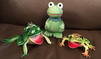 Отдается в дар Резиновые лягушки