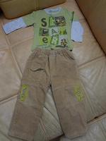 Отдается в дар теплые штаны и кофточка Gee Jay на 86 см