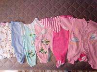 Отдается в дар Пакет вещей на девочку 0-3 месяца.