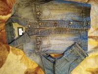 Отдается в дар Куртка джинсовая 38