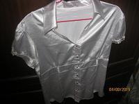 Отдается в дар 5 блузок размер 44 и 48, смотрите для офиса