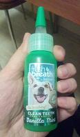 Отдается в дар Средство от запаха из пасти для собак