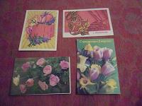 Отдается в дар Четыре + 1 открытки