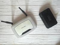 Отдается в дар Роутер и ADSL-модем