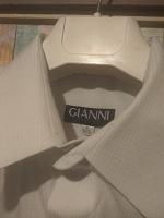 Отдается в дар Мужская рубашка Gianni
