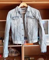 Отдается в дар Джинсовая куртка Zoo york