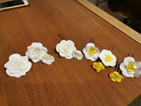 Отдается в дар Заколки-шпильки цветы