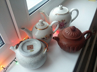 Отдается в дар заварочные чайники