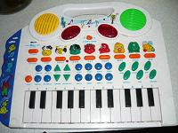 Отдается в дар электро пианино игрушка