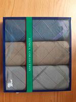 Отдается в дар набор мужских носовых платков (новых)