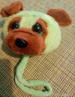 Отдается в дар Голова собаки от полотенца.