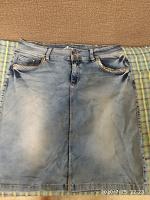 Отдается в дар Юбка джинсовая 48-50