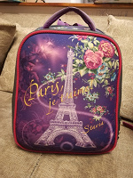 Отдается в дар Школьный рюкзак для девочки