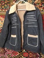 Отдается в дар Джинсовая куртка 46-48