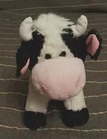 Отдается в дар Усидчивая плюшевая корова