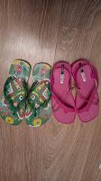 Отдается в дар Новые резиновые сандалии для девочек
