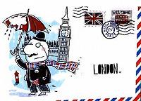 Отдается в дар Открытка из Лондона