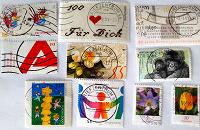 Отдается в дар марки радость коллекционера — редкие немцы: дети, юбилейки, стандарты