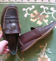Отдается в дар туфли в этно-стиле 36