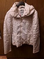Отдается в дар Куртка 46-48 размер, цвет слоновой кости
