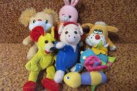 Отдается в дар Игрушки для малышей мягкие