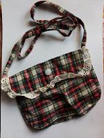 Отдается в дар Полотняный кошелечек для девочки.