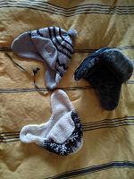 Отдается в дар Три шапки-ушанки