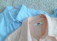 Отдается в дар Рубашки 40 — 42 размер uniqlo