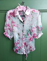 Отдается в дар Шелковая блузка, новая