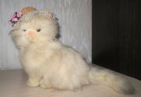 Отдается в дар Мягкая игрушка — кошка