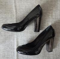 Отдается в дар Туфли Черные Натуральная кожа 36 размер