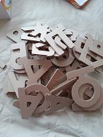 Отдается в дар Картонные буквы