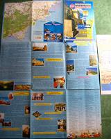 Отдается в дар карта туристическая