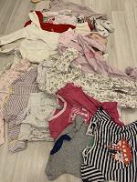 Отдается в дар Одежда б/у девочке до года