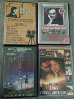 Отдается в дар 4 двд-диска с фильмами