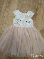 Отдается в дар шикарное платье для девочки Hello Kitty 116 см