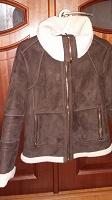 Отдается в дар Куртка-дубленка женская O'STIN коричневая