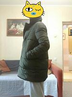 Отдается в дар Куртка — пальто для беременной