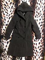 Отдается в дар Пальто зимнее шерстяное