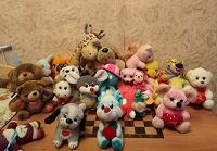 Отдается в дар Мягкие игрушки пакетом.
