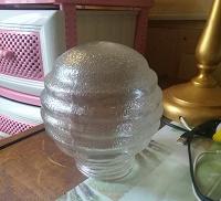 Отдается в дар Плафон стеклянный для светильника