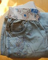 Отдается в дар Летние брюки из тончайшей джинсы р 40-42