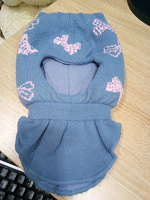 Отдается в дар Шапка шлем для девочки