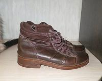 Отдается в дар Ботинки кожаные